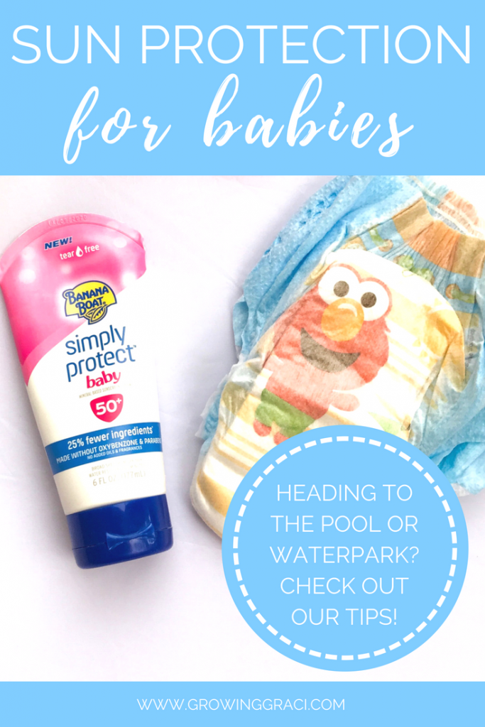Planning on visiting a pool or waterpark with your little one? Check out these tips and products for helping reduce sun exposure to make sure that everyone has a good time!