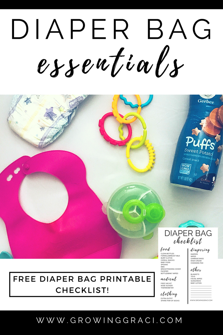 Our Diaper Bag Essentials – Babies Under 1
