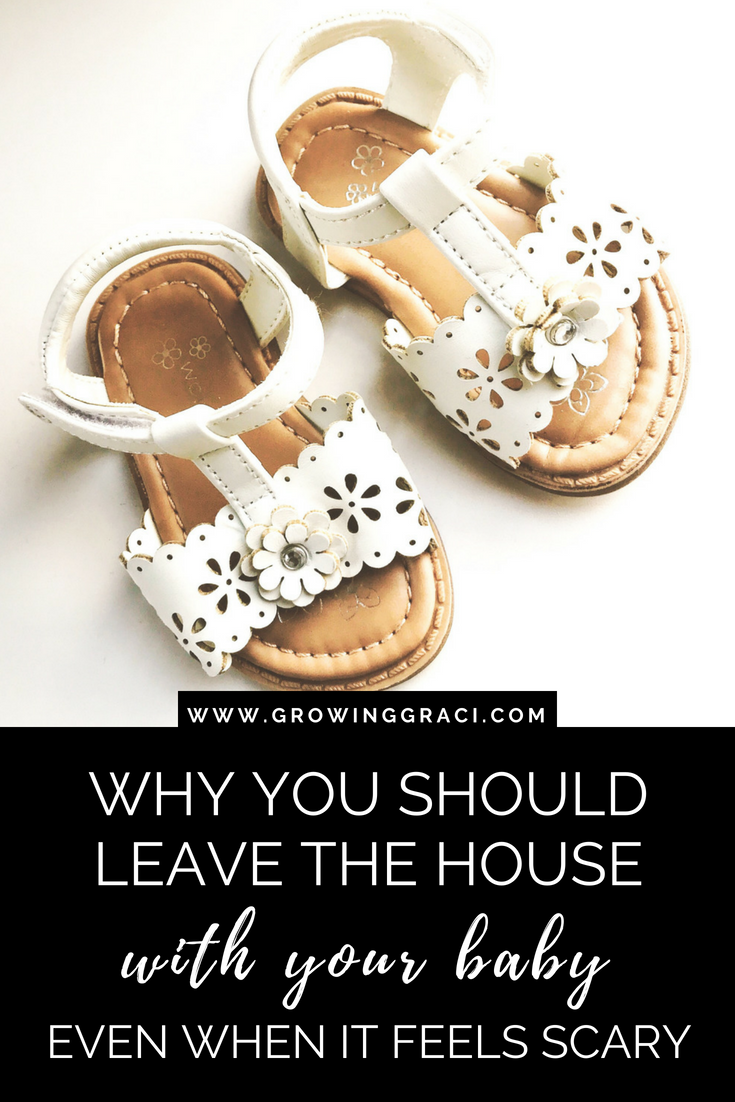 As a new mom, leaving the house feels like a daunting task. Here are a few reasons that you really should be getting out of the house with your baby.