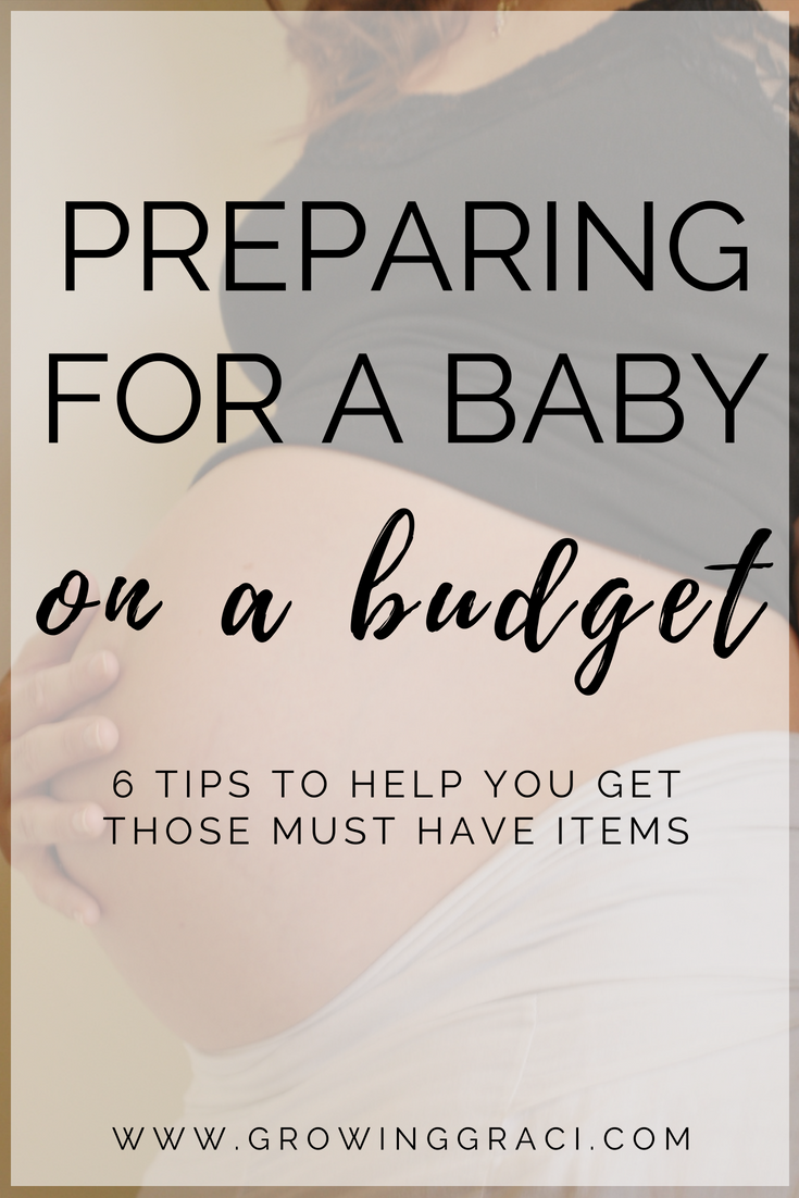 How We Prepared For A Baby On A Budget