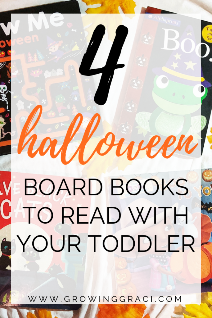 Get your little one into the Halloween spirit with these four adorable Halloween board books that can easily be found on Amazon!