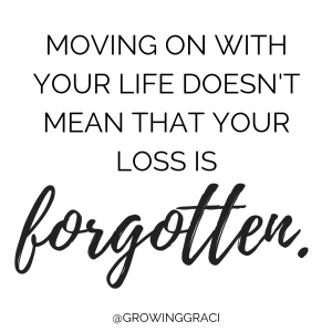 Trying to conceive after miscarriage means moving on. However, moving on with your life doesn't mean that your loss is forgotten.