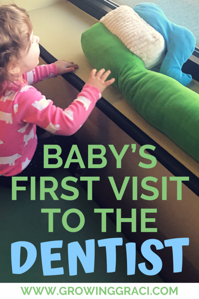 I was super nervous when I scheduled my baby's first dentist visit, since I had no idea what to expect. Check out this post to read about our appointment.
