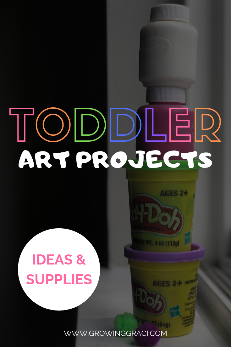 Toddler Art Projects: Ideas & Supplies