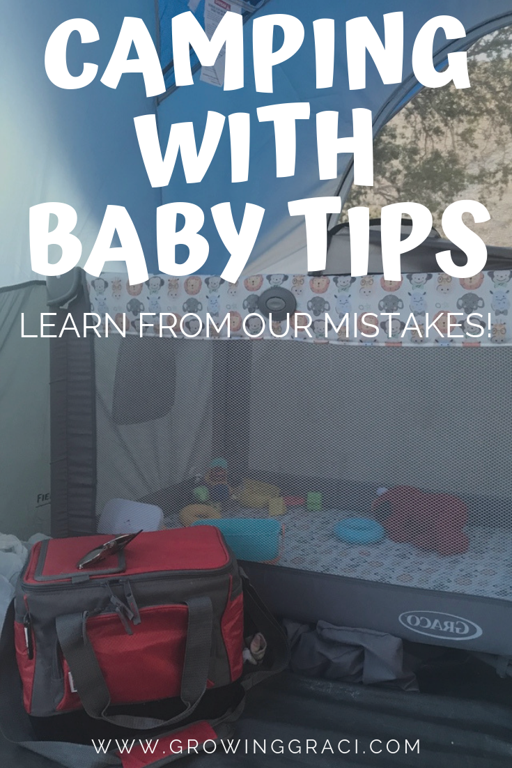 Are you preparing to go camping with a baby? Check out what we learned on our first camping trip attempt and make sure that you learn from our experience!
