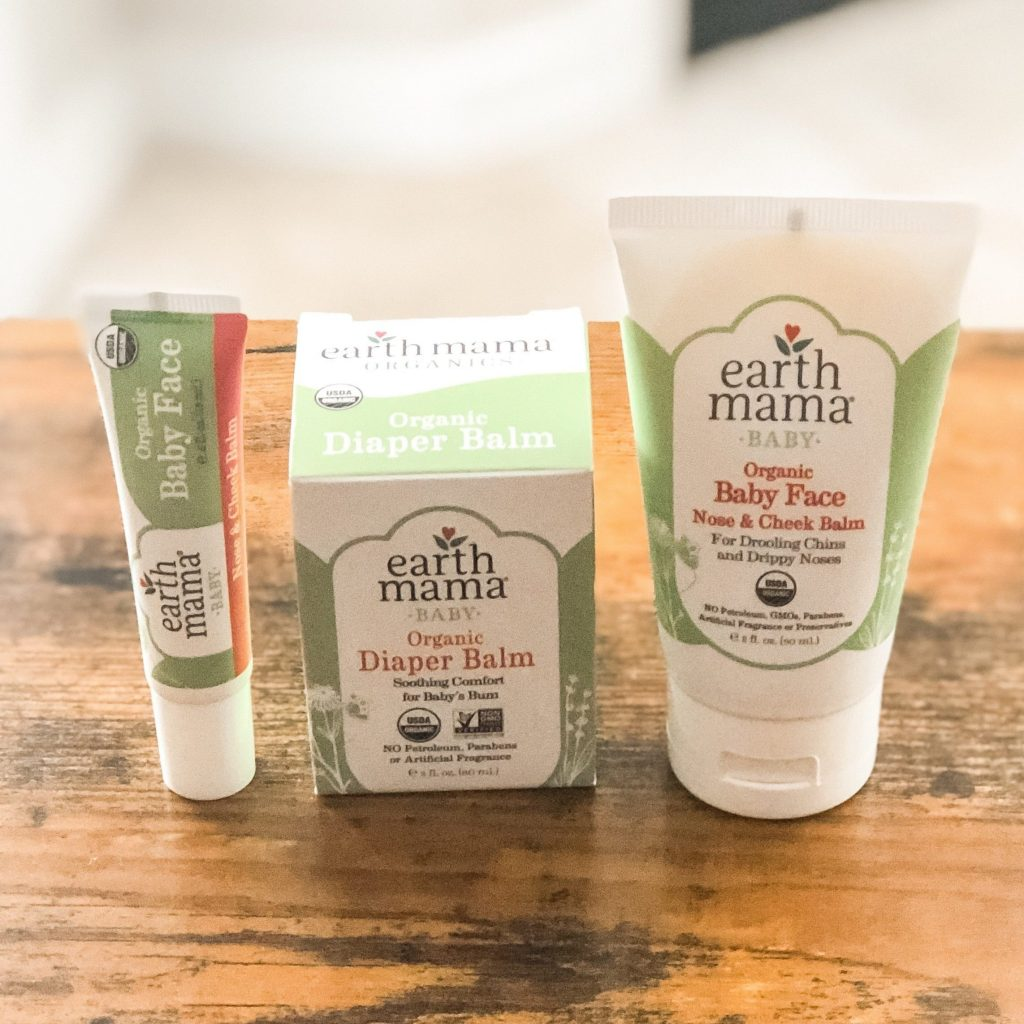 [AD] This post is sponsored by Earth Mama Organics. It can be difficult to find clean baby skincare products that work for your family. Check out this article for a few products we've been loving!