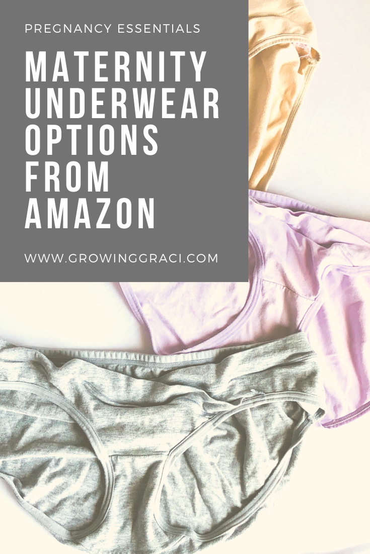 We all know that you have to buy maternity clothes when you get pregnant. But, did you know that you may even need to buy pregnancy underwear?!