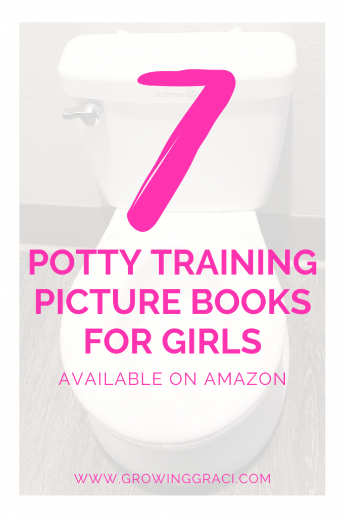 Check out these incredible potty training books for girls and use them to teach your toddler about going potty on the toliet.