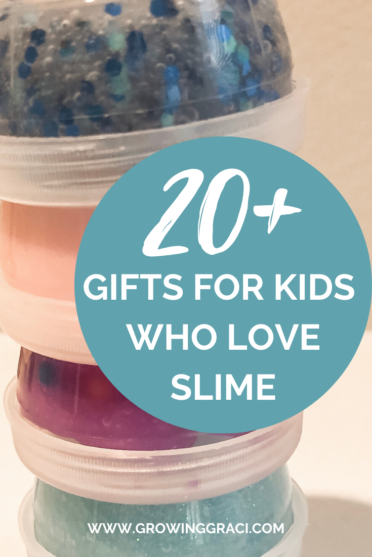 Do you have a slime-obsessed kid in your home? Check out this gift guide featuring slime kits, pre-made slimes and more supplies.