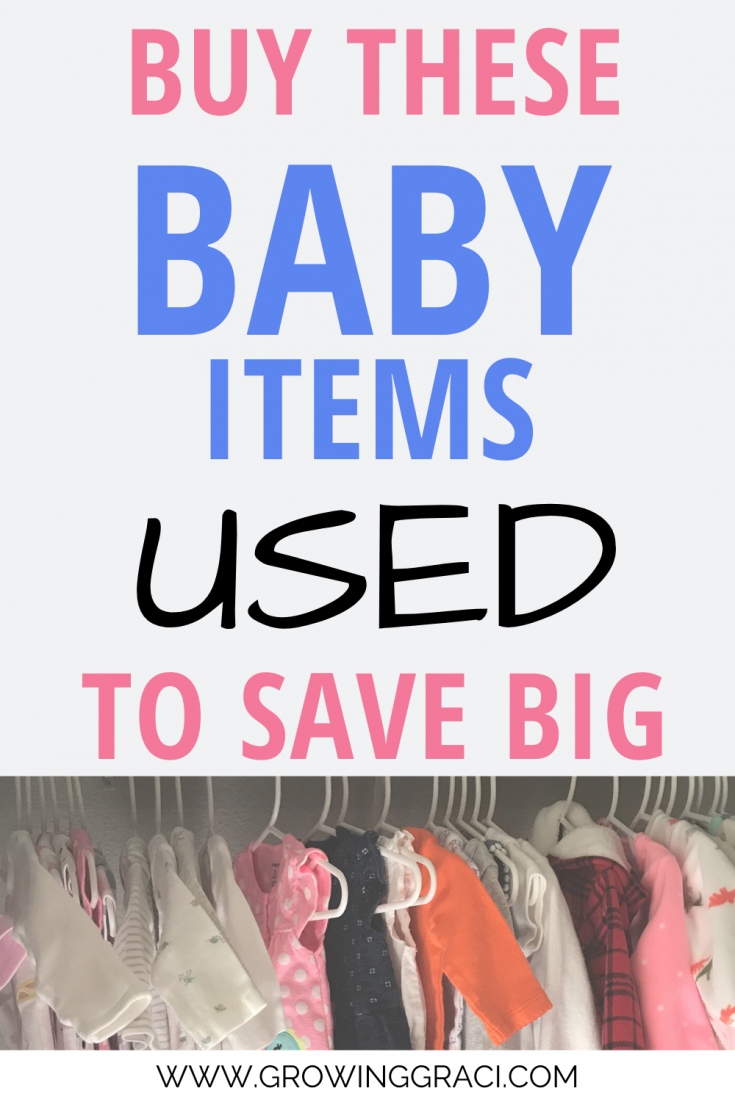 Preparing for a new baby can be expensive! Check out all of these tricks for buying baby gear used to save big on your baby shopping!