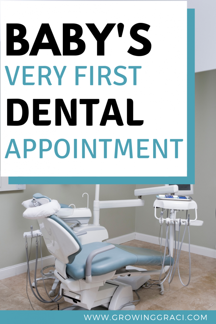 Taking your baby to the dentist for the first time can be overwhelming. Check out this article to find out what to expect on your child's first dental visit, along with a few tips that I learned along the way!