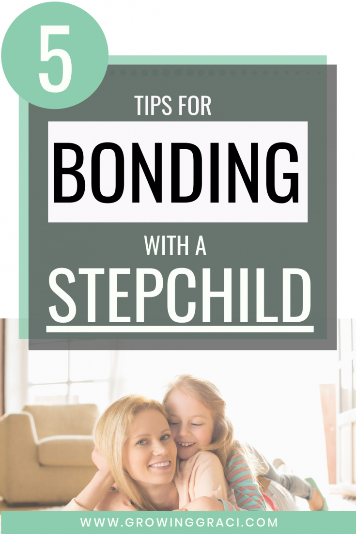 Check out this article for 5 tips for bonding with a stepchild. Establishing a relationship with your stepchildren can be a hard journey, but I hope these tips from someone who has been through it will help!