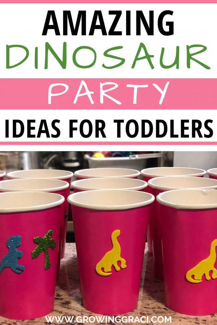 Check out these tips to have an EPIC dinosaur birthday party for your dino-obsessed toddler! The tips are great for girls AND boys!