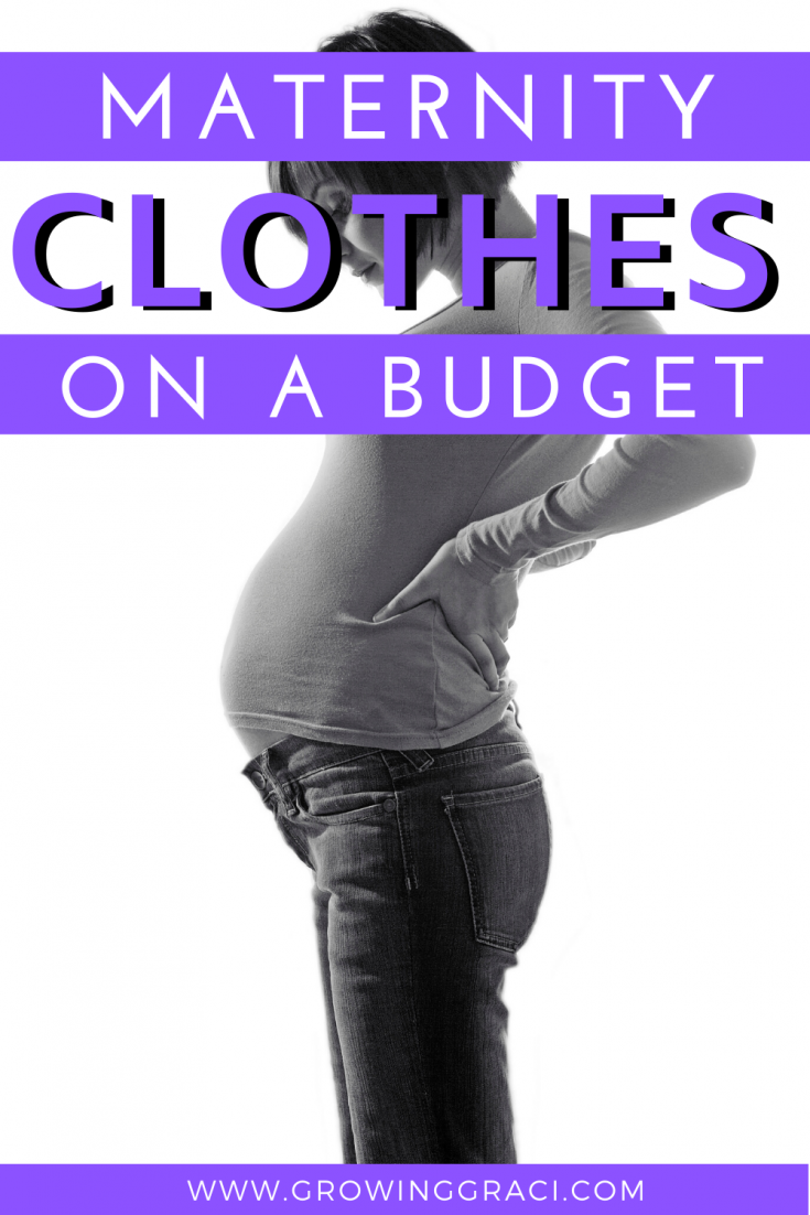 Finding maternity clothing that is both cute and inexpensive when you're on a budget can seem like a daunting task. With our tips, however, it is possible!