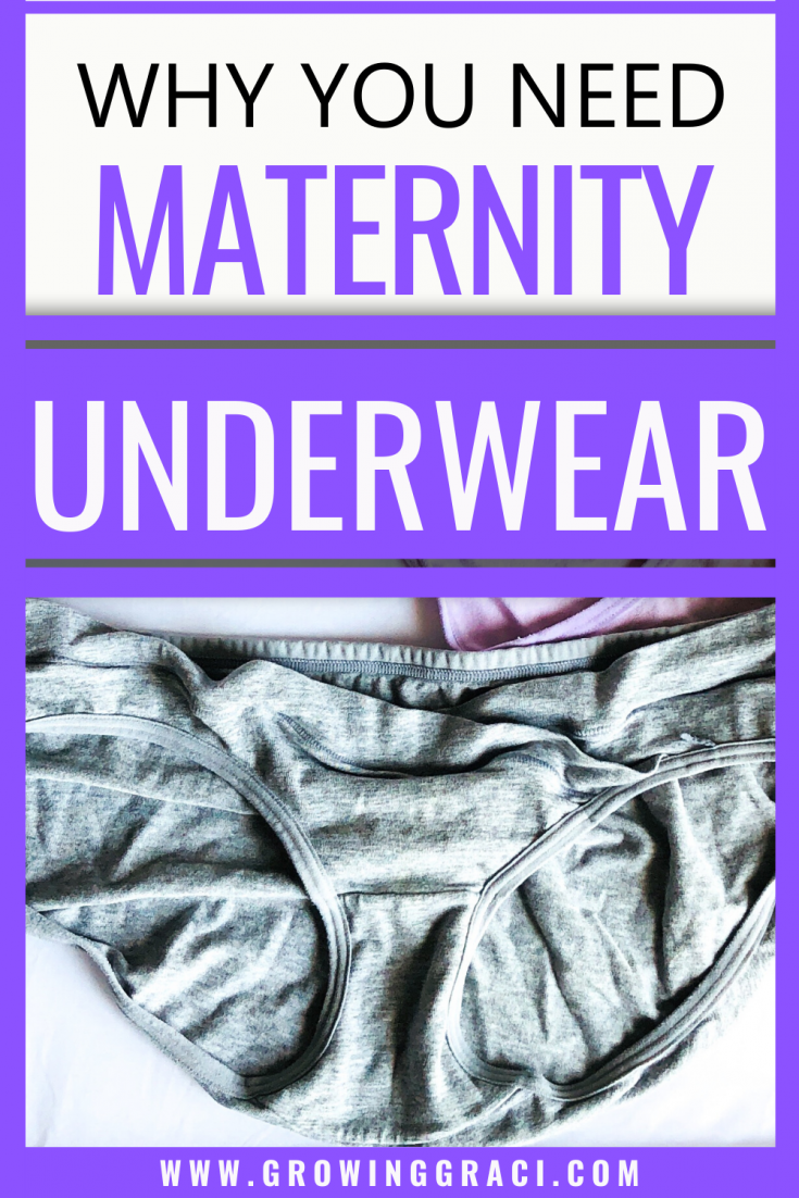 We all know that you have to buy maternity clothes when you get pregnant. But, did you know that you may even need to buy maternity underwear?!