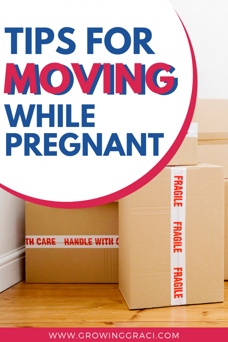 Moving while pregnant is absolute torture. Check out this article for information on making moving while pregnant a little easier on your body!