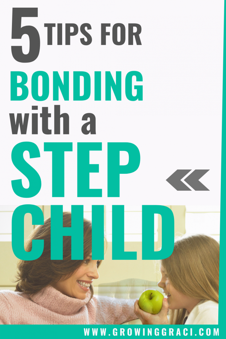 As a new stepmom, it can be hard to find ways of bonding with your new stepchild or stepchildren. Check out these tips from someone who has been through it!
