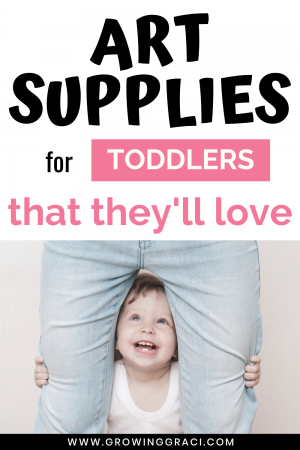 Finding art supplies that are toddler appropriate can be a task. Check out these tips and links to products that we've been loving for our toddler.