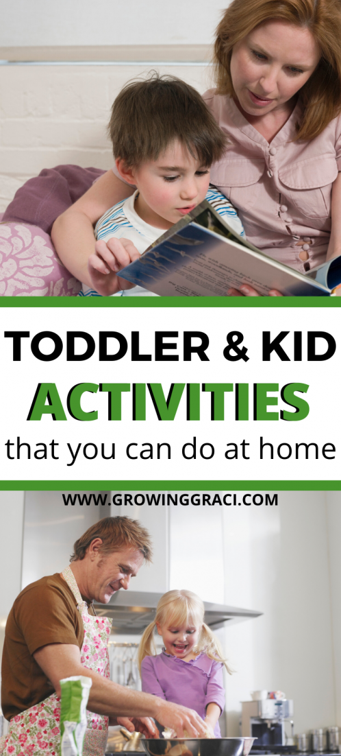 Finding things to do with your kids when you're stuck at home can feel overwhelming. Check out this list for ideas to entertain your little ones!