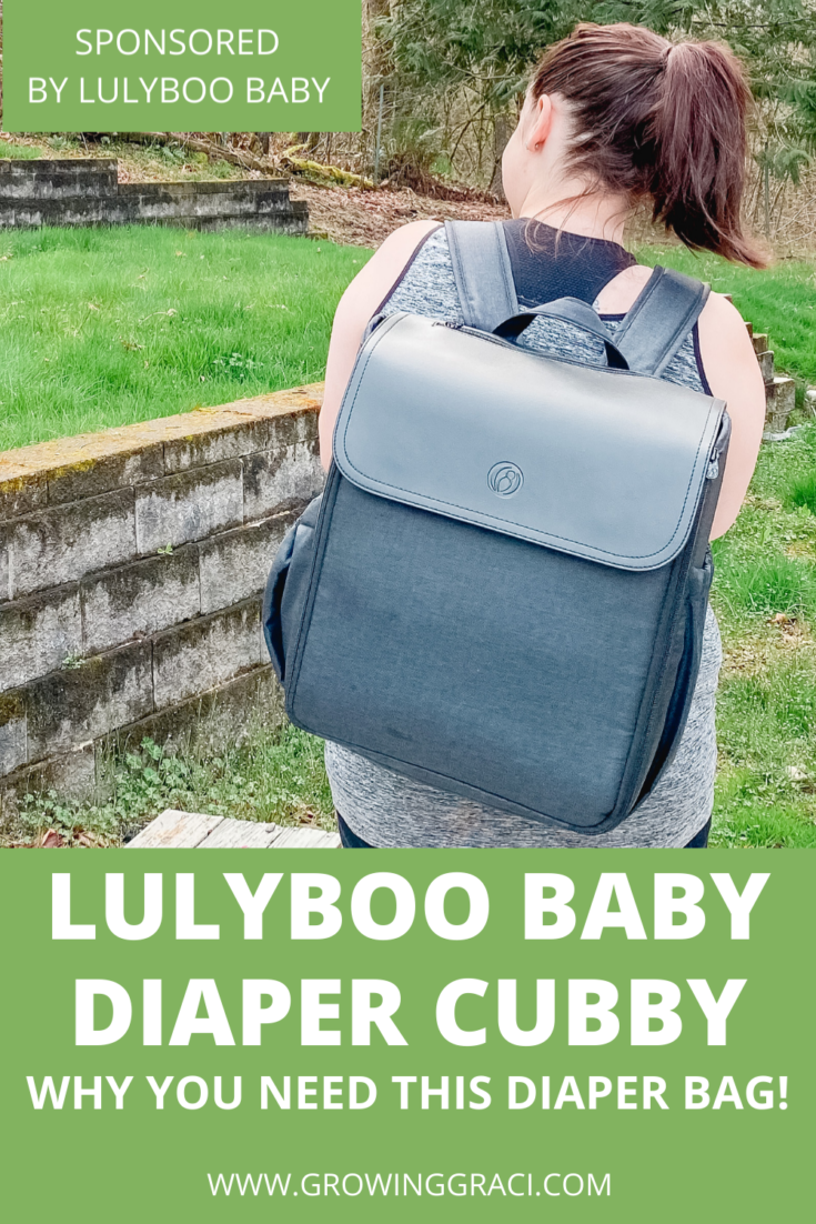 [AD] Lulyboo Baby's Diaper Cubby is a baby registry must-have! With modular shelves and a built-in changing pad, it is a game changer!
