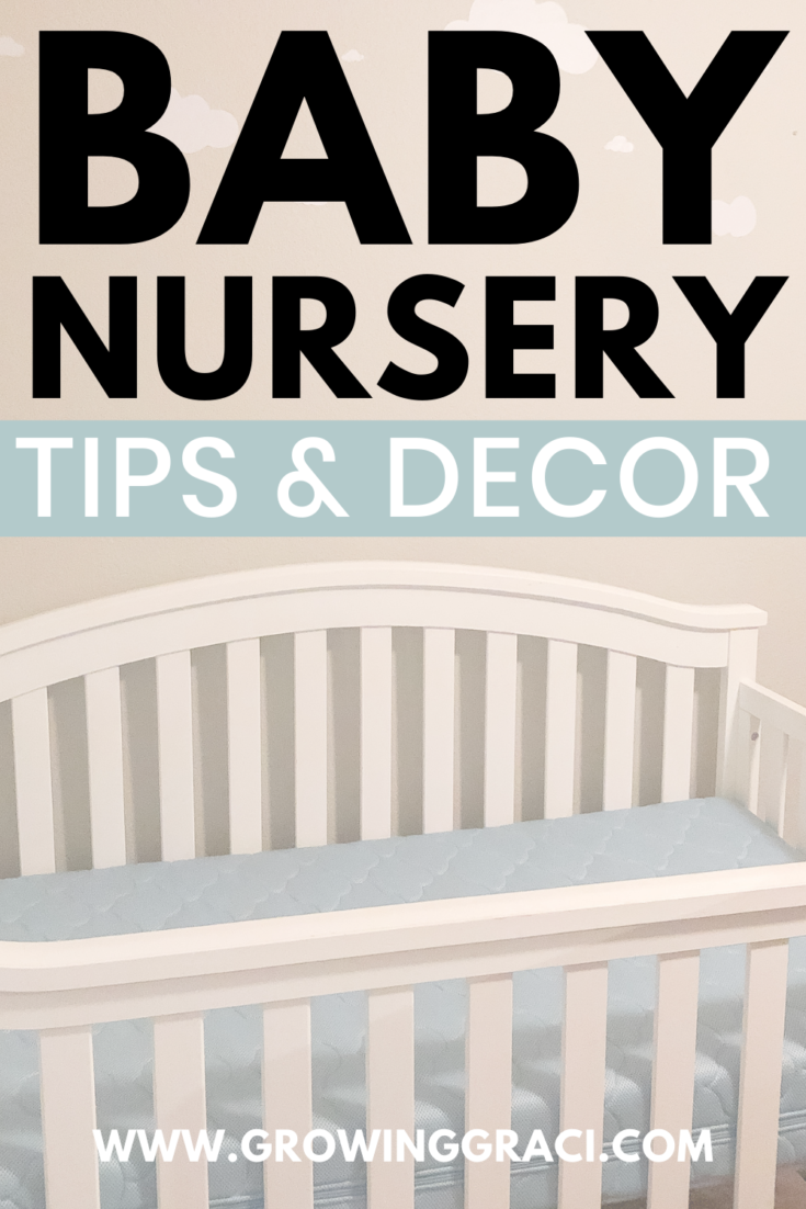 Designing a baby nursery can feel incredibly overwhelming. Check out this article for tips and decor ideas to ease the overwhelm.