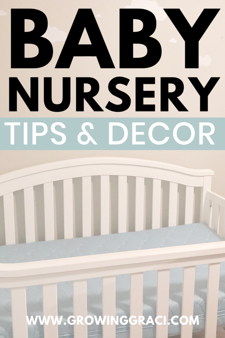 Baby Nursery Tips & Decor Ideas For The Perfect Space
