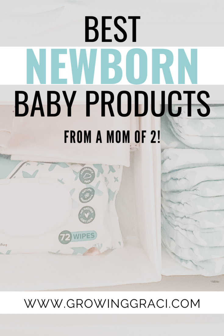 Are you trying to figure out the best newborn baby products for your baby registry? Here are my absolute favorites as a mom of two!