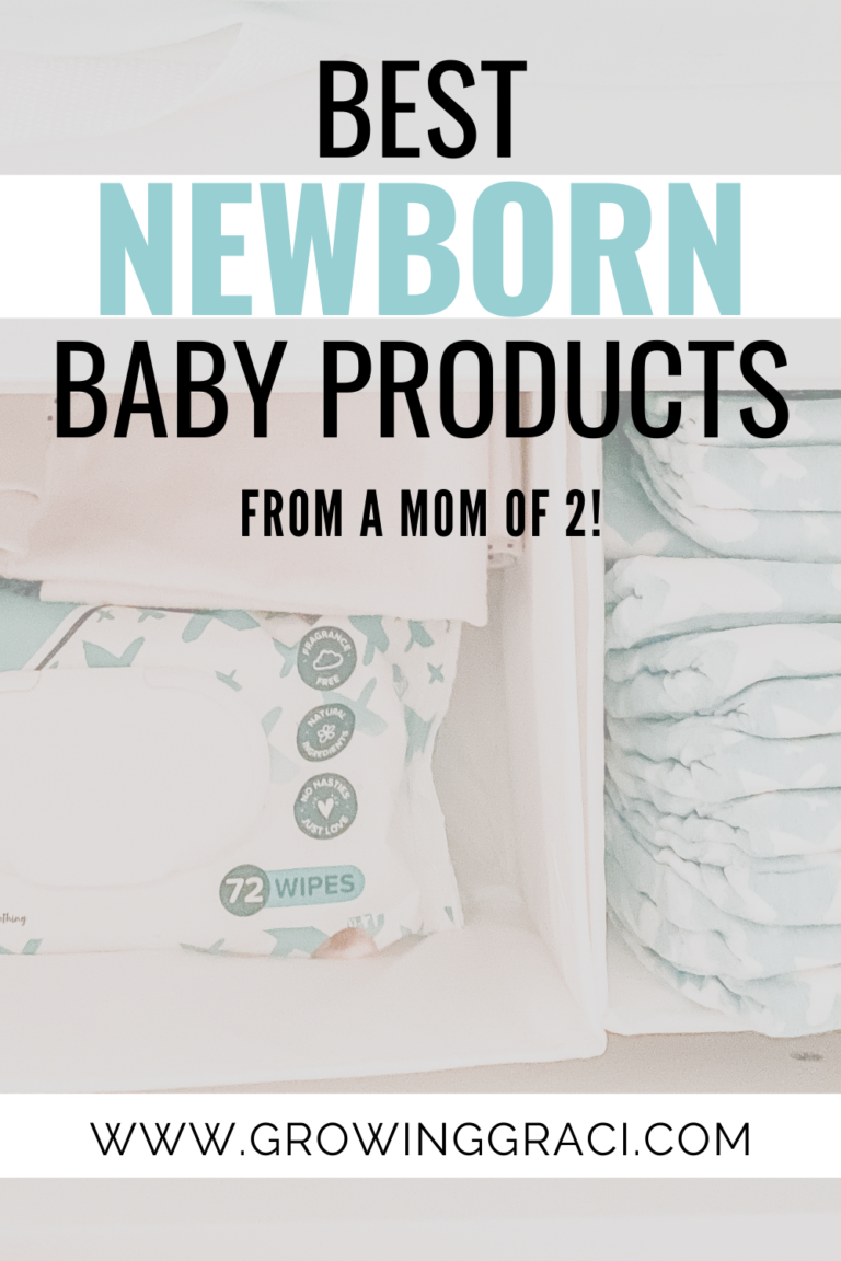 Favorite Newborn Baby Products Of All Time
