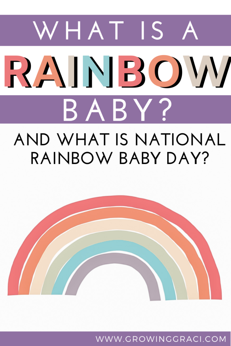 What Is A Rainbow Baby & What Is Rainbow Baby Day?